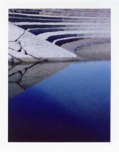 Lochkamerafoto auf Fuji Fp100c